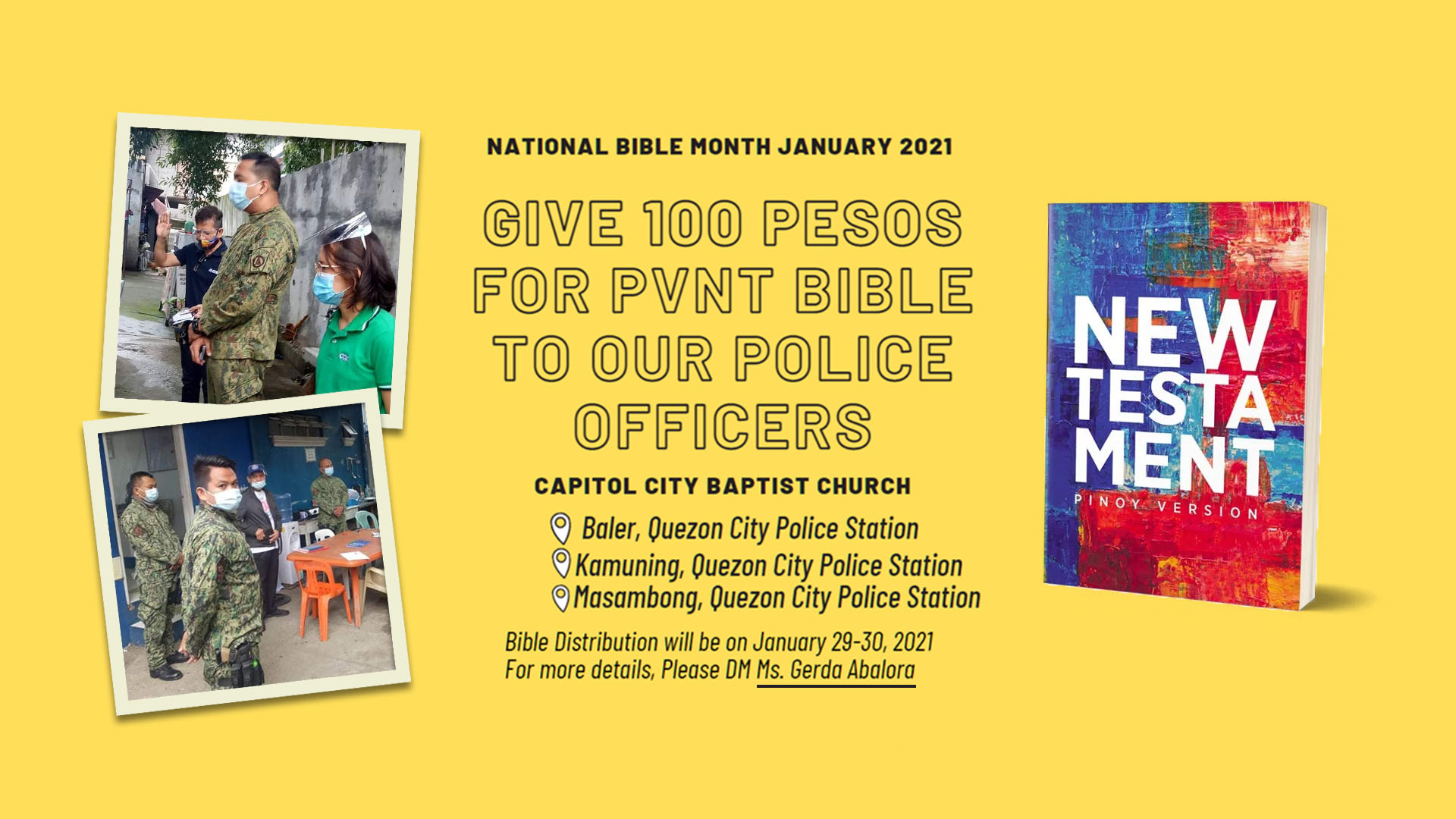 national bible month